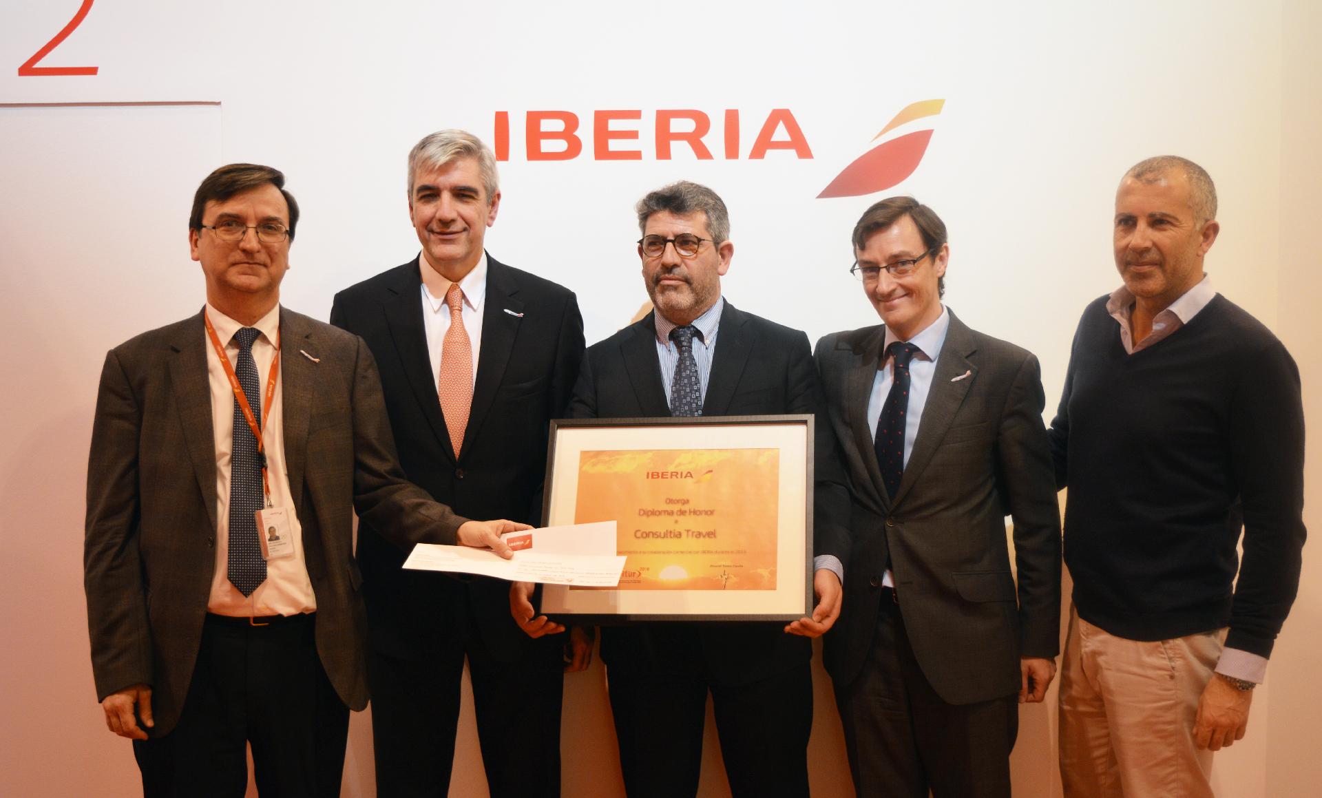 Consultia Travel Premiada Por Iberia Como Agencia Con